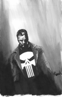 Punisher Inkwash, Comic Art