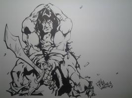 Conan mad , Comic Art