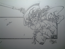 Huntress , Comic Art