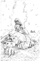 Powergirl On Top, Comic Art