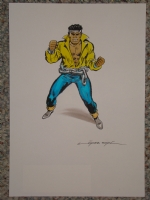 Rafael Lopez Espi - Power Man Luke Cage Comic Art