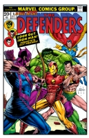Defenders #9-One Minute Later (digital color) Comic Art