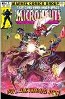 Micronauts #5 fantasy cover Comic Art