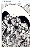 Marvel Comics Presents: Moon Knight-p.1 of 8 Comic Art
