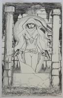 John Bolton - Ghost Omnibus 2 prelim Comic Art
