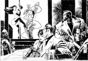 Jordi Bernet - Sin City & Torpedo Comic Art