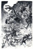 Duncan Fegredo - Hellboy Comic Art