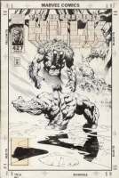 Liam Sharp - Hulk 427, Comic Art