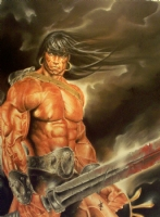 Conan The Liberator by Jason Eden Comic Art