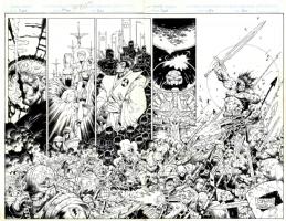 Prophet Issue 1 Cover by Stephen Platt Comic Art
