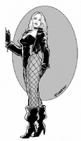 Black Canary Comic Art