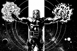 Darkseid Comic Art