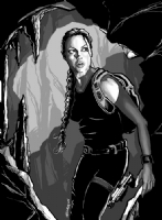 Lara Croft Comic Art