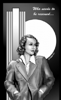 Lois Lane Comic Art