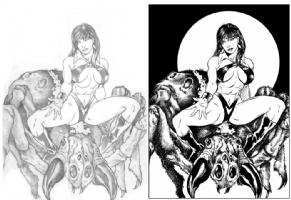 Vampirella Comic Art