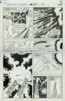 Marvel Comics Presents #97 Silver Surfer Story pg 3 (Marvel 1992) by Ron Wilson & Bud LaRosa Comic Art