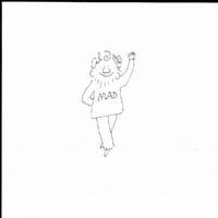 Al Jaffee Self Portrait Comic Art