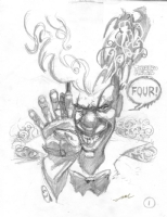 Twisted Metal 4 - Sweet Tooth Prelim Comic Art