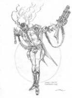 Twisted Metal 4 - Sweet Tooth Ringmaster Prelim Comic Art