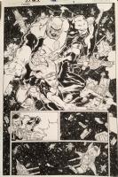 Sinestro issue #13 page #4 by Brad Walker & Drew Hennessy Comic Art