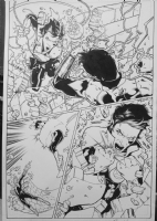 Sinestro issue #12 page #15 by Brad Walker & Andrew Hennessy Comic Art