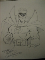 Alan Scott by Randy Bowen Comic Art