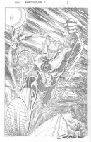Blackest Night: Flash Issue #2 page #8 by Scott Kolins Comic Art