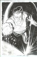Green Lantern by Freddie Williams II Comic Art