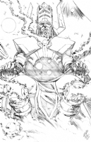 Galactus Commission by Wellinton Alves (Pencils) Comic Art