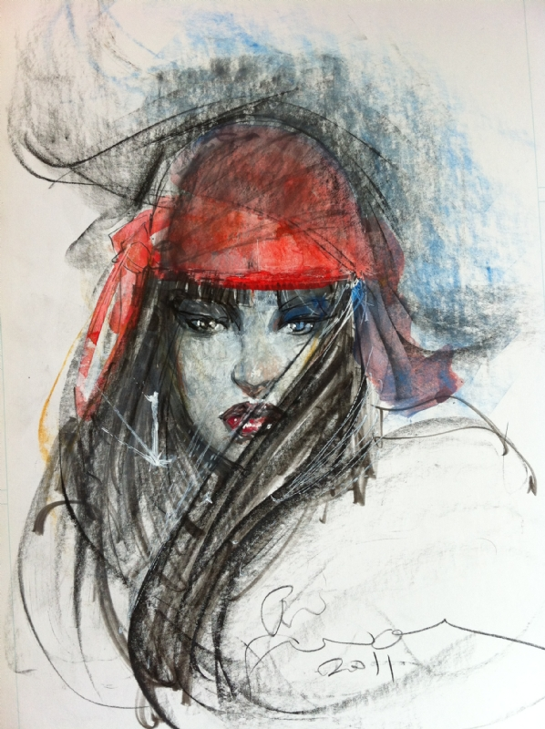 Elektra by Sienkiewicz Comic Art
