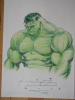 Hulk Ariel Olivetti Comic Art