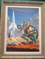 Weird Fantasy 15 Revisited  painting AL FELDSTEIN Comic Art