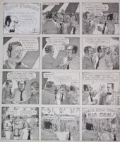 Reid Fleming college strip by David Boswell, 2 Comic Art