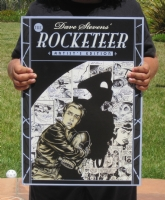 rocketeer Artist's Edition 3 Comic Art