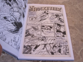 rocketeer Artist's Edition 6 Comic Art