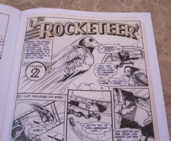 rocketeer Artist's Edition 4 Comic Art