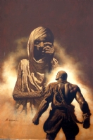 Doc Savage The Maji by James Bama Comic Art
