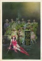 Sienkiewicz, Bill - Elektra Assassin, issue 3, cover (Oct 1986) Comic Art