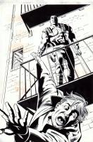 Bloodshot #21, page 5 (1994) - $225.00 Comic Art