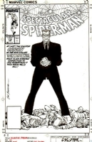 The Spectacular Spider-Man #139 Cover - The Origin of Tombstone - (1988), Comic Art