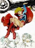 Supergirl: Flying Skirt Foibles (2004), Comic Art