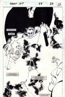 What If...? #57, page 23 (1994) - The Punisher - $250.00, Comic Art