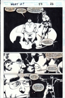 What If...? #57, page 22 (1994) - The Punisher - $100.00 Comic Art