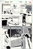What If...? #57, page 21 (1994) - The Punisher - $100.00 Comic Art