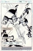 What If...? #57, page 01 (1994) - The Punisher - $350.00 Comic Art