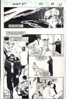 What If...? #57, page 19 (1994) - The Punisher - $100.00 Comic Art