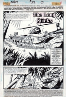 The 'Nam #52, page 01 (1991) - The Punisher - $150.00 Comic Art