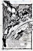 Marvel Comics Presents #87, page 17 - The Beast - (1991), Comic Art