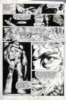 The Punisher Annual #1, page 29 - The Evolutionary War - (1988), Comic Art