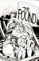 The Pound #1 (Color Ed.) Cover - $350.00, Comic Art